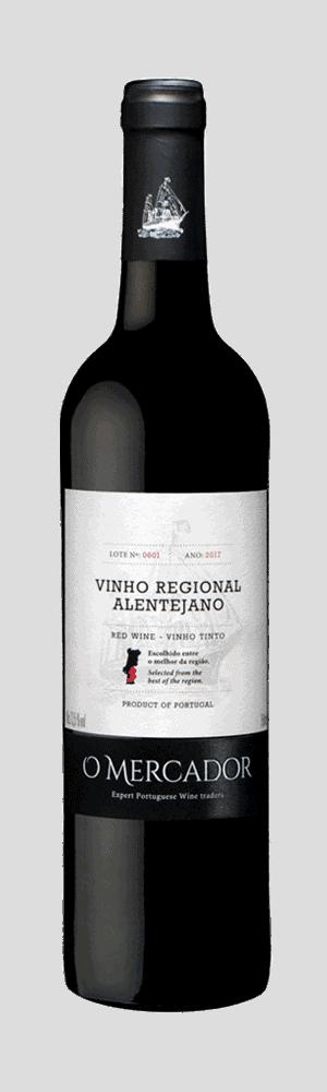 O MERCADOR Vinho Tinto Regional Alentejano