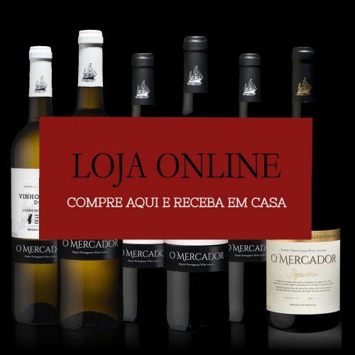 Comprara vinhos O mercador online loja Portugal